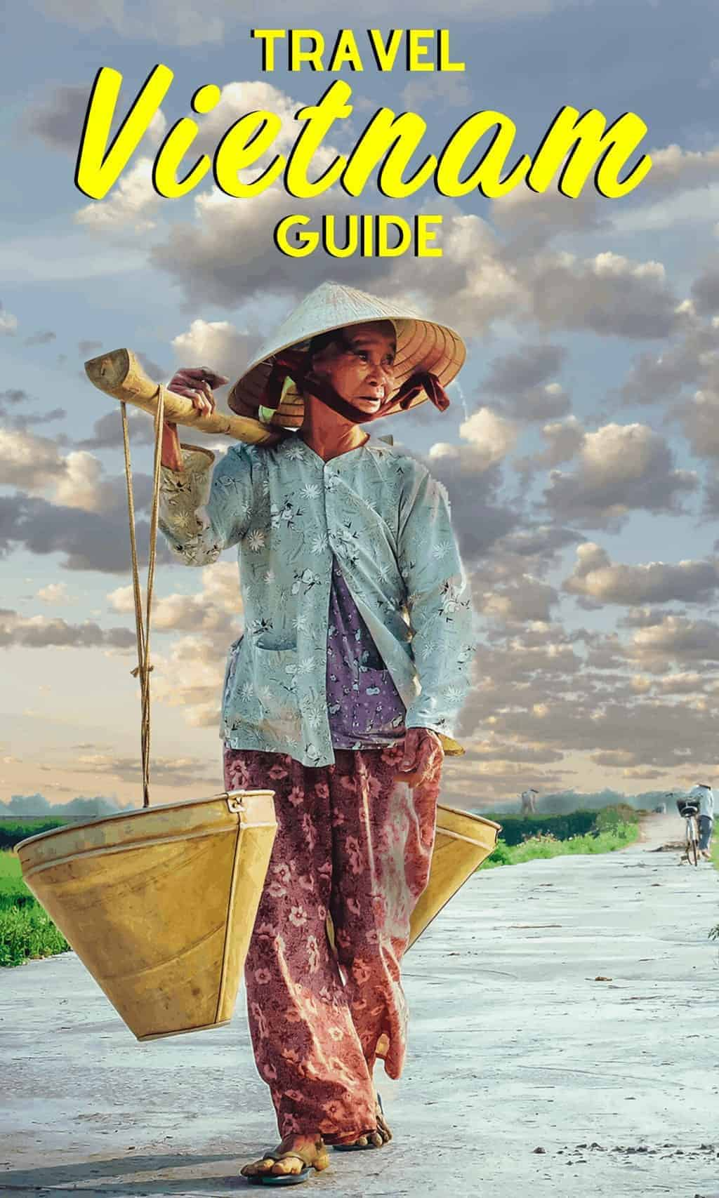 woman in traditional vietnam clothes - Ultimate Vietnam Travel Guide