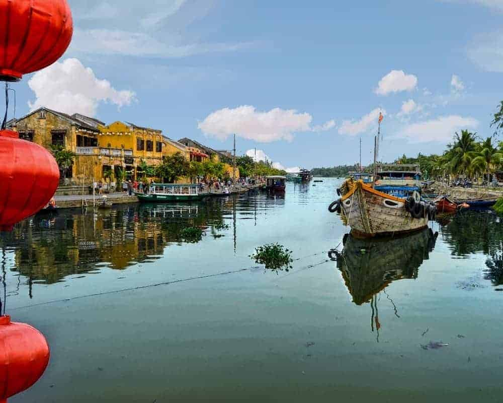 Dragon Boat In Hoi An Canal