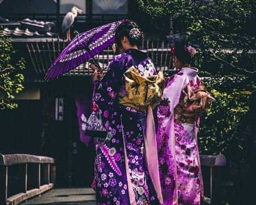 Traditional Outfits of Japanese Women