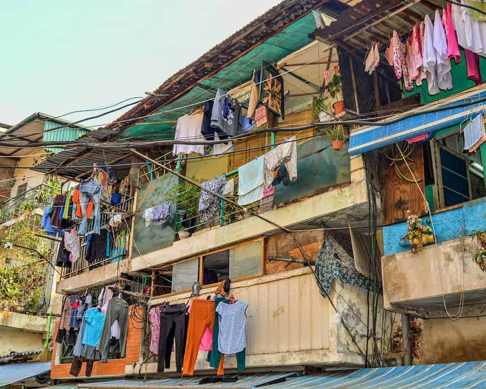 Typical Hanoi Old Town Laundry Scene - Ultimate Vietnam Travel Guide