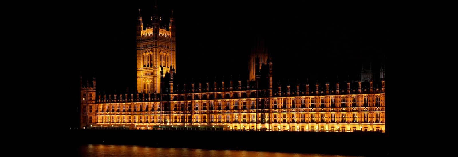 Parliament Building at night - England Travel Guide