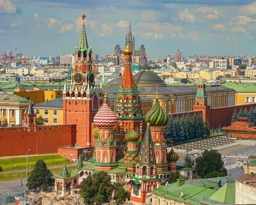 Central Moscow Landscape - ultimate Russia travel guide