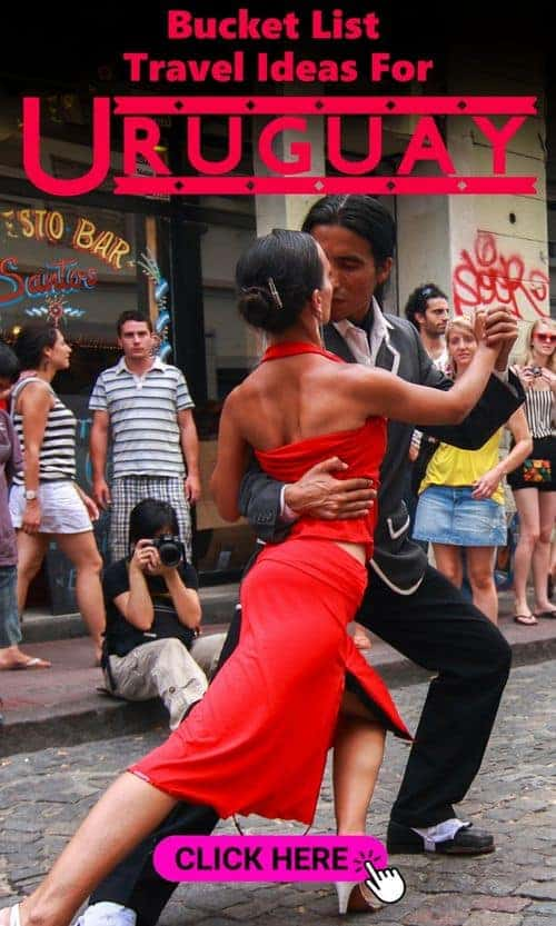 1 Dancing in the street woman in red dress - ultimate uruguay travel guide