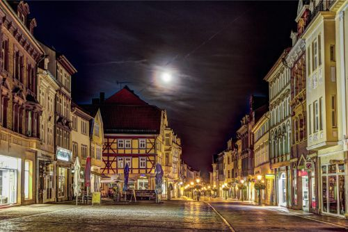 Old city of Muelhausen in Thuringia - Germany Regional Travel Guide