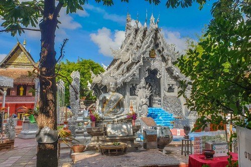 Chiang Mai Sliver Temple - Thailand Travel Guide