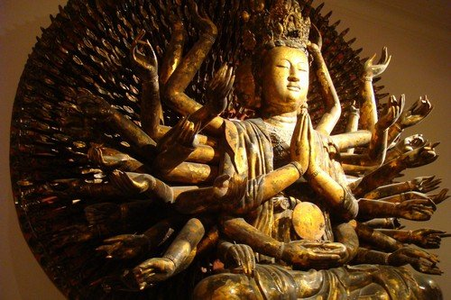 Guanyin and the Thousand Arms in Hanoi.