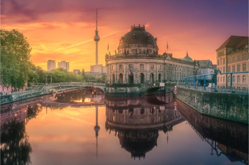 Museum island on Spree river of Berlin, Germany. - Germany travel guide