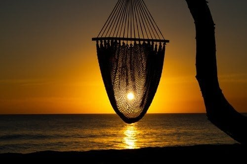 Sunset Through the Hammock - the nicaragua travel guide