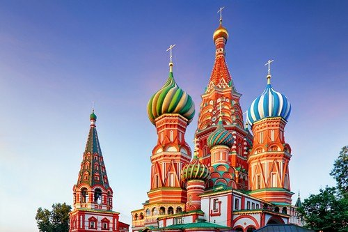 Moscow, Russia - Red square view of St. Basil's Cathedral - Russia travel guide ultimate russia travel guide