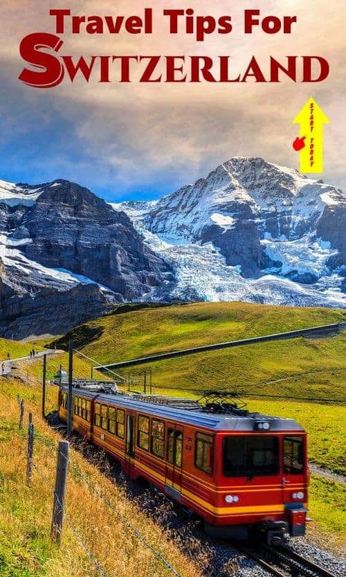 The Red Train Swiss Mountains - ultimate swtizerland travel guide
