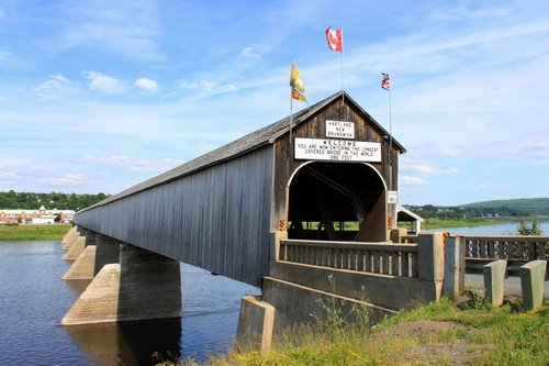 The longest covered bridge in the world eastern canada travel guide