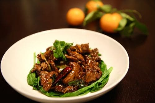 Orange Beef - Easy China Recipes