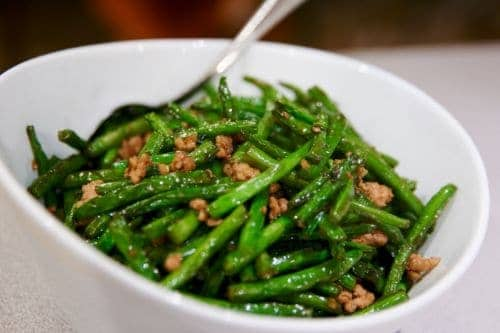Dry Fried Green Beans