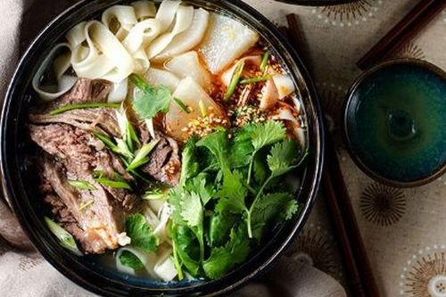 Lanzhou hand-pulled noodles - Easy China Recipes