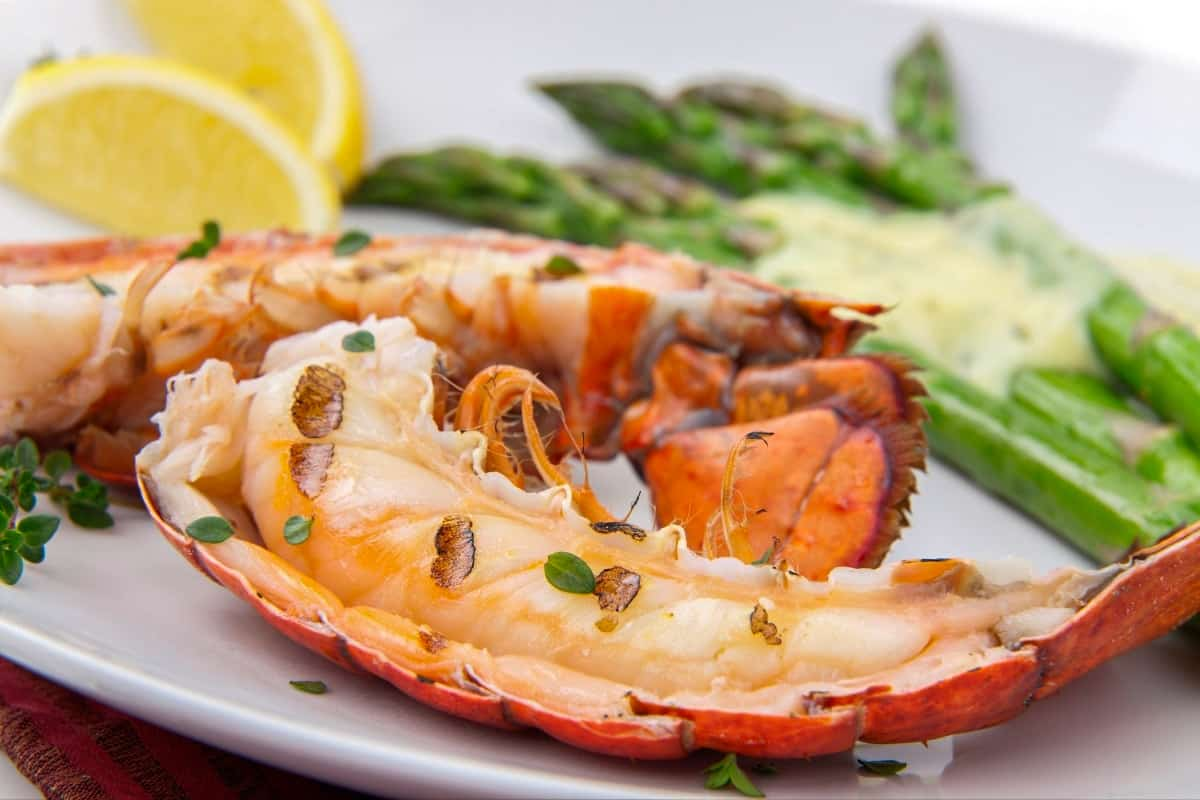 Grilled Bahamian Lobster Tails - Bahama Foods