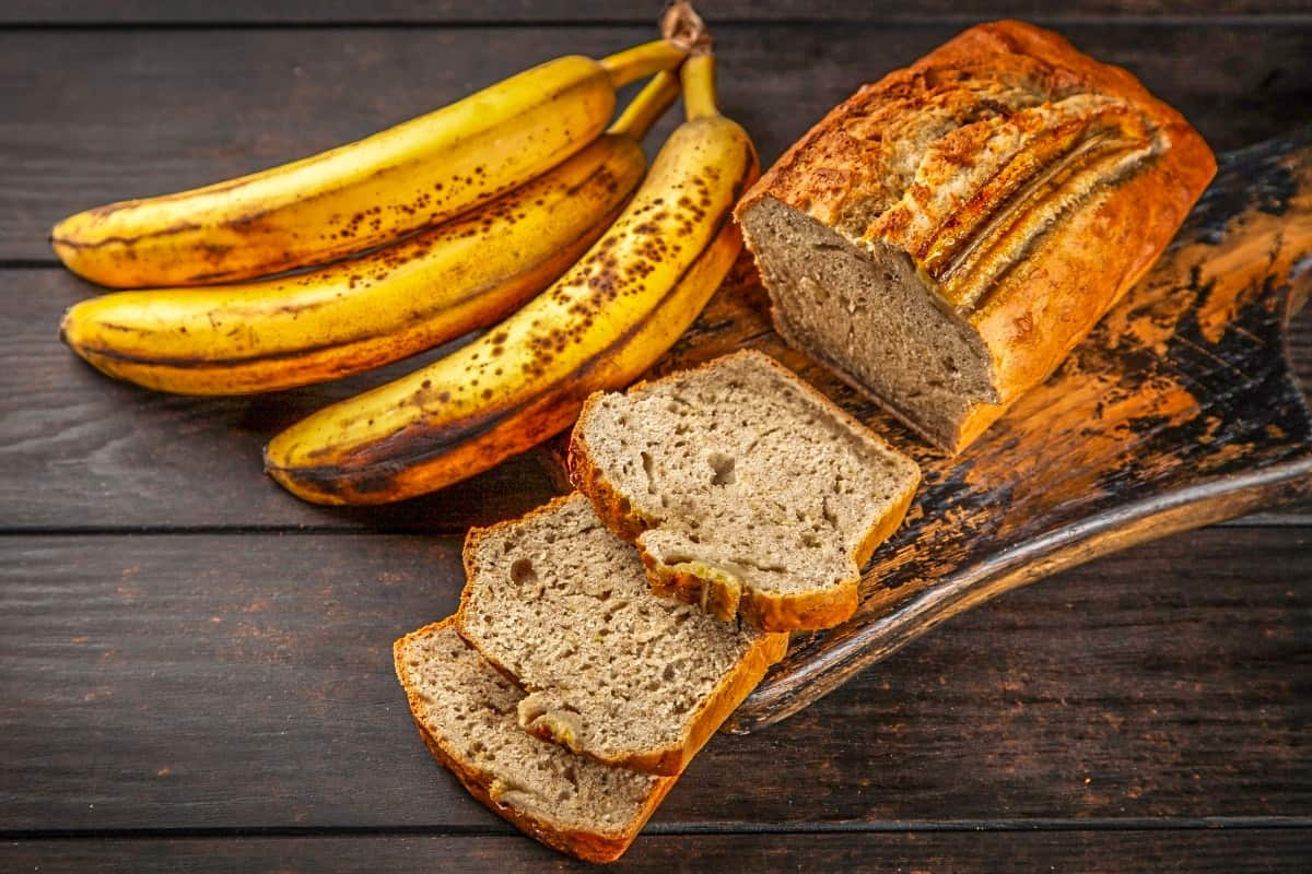 Banana Bread with Buttered Rum Sauce - Bahama Foods