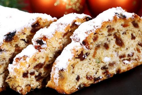 6. Christmas Stollen and Ice Cream Pudding - New Zealand Food Traditions