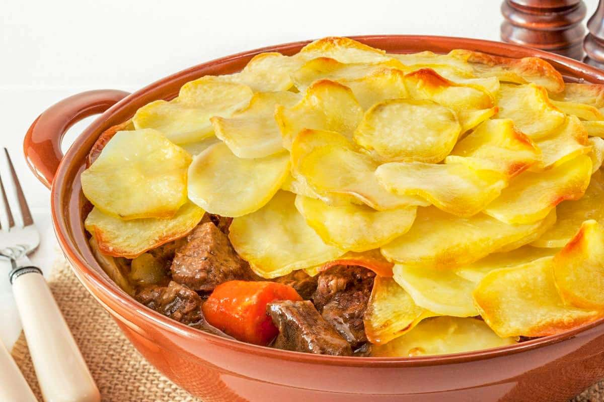 Traditional Lancashire Hotpot - Traditional England Foods
