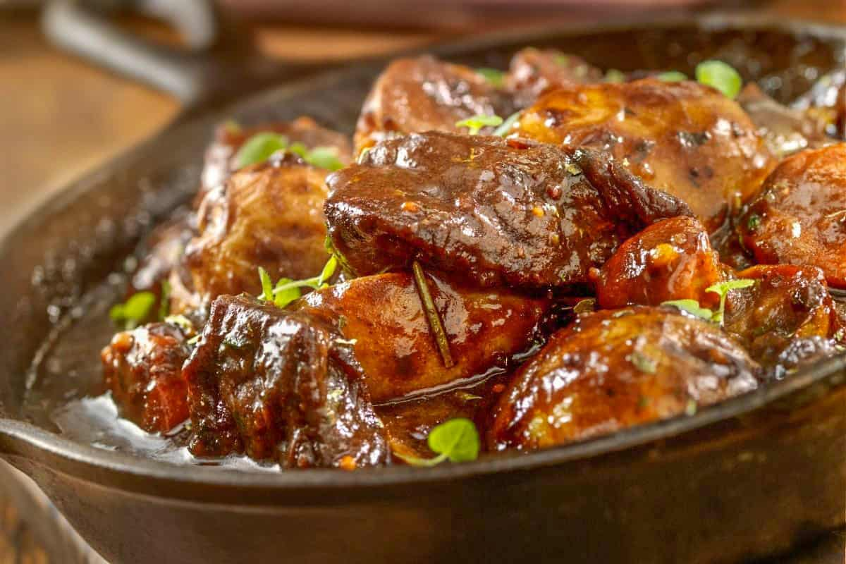 Nanna's Beef Stew - England Foods To Eat