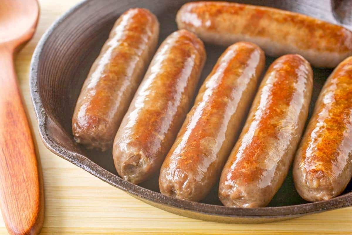 Sticky Sausages - England Foods To Eat