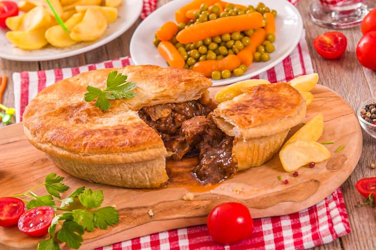 Delicious Steak Pie - Traditional England Foods