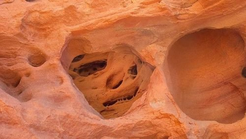 3 Whitney Pockets Cave Dwellings