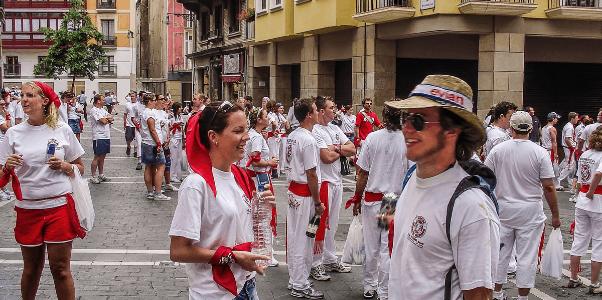 Stay Alive at San Fermin