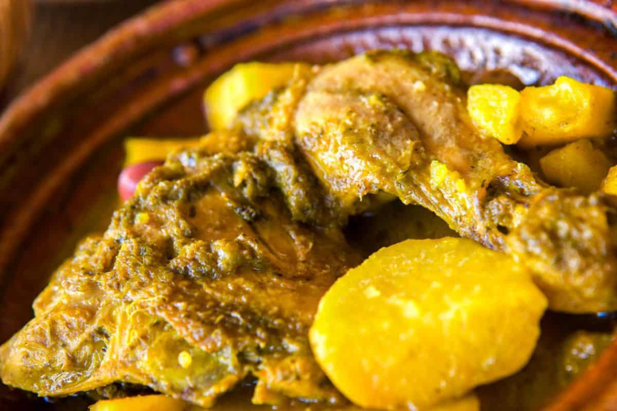 12. Chicken Tagine with Apricots, Prunes and Preserved Lemon