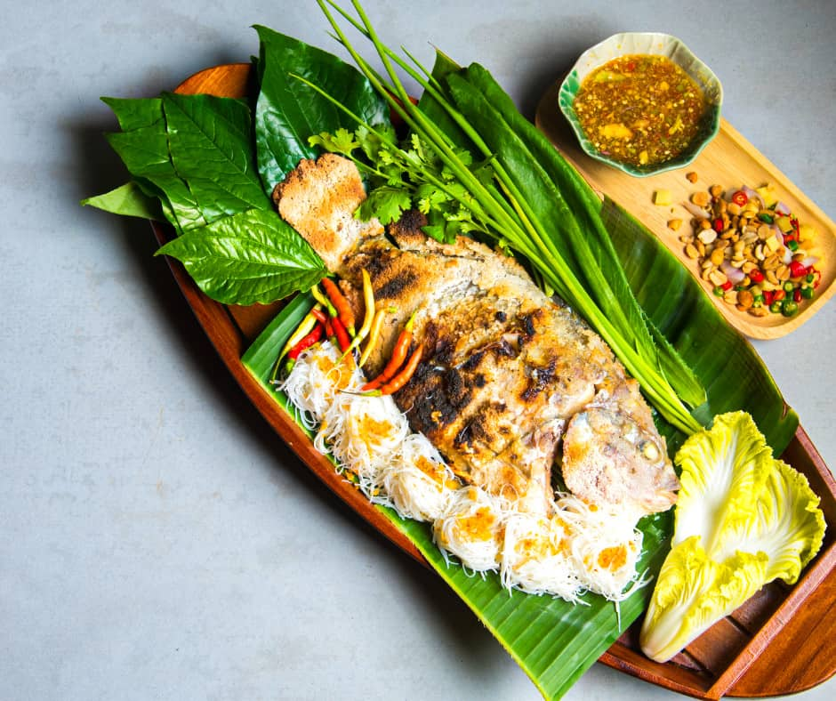 14. Vietnamese Tilapia with Turmeric and Dill