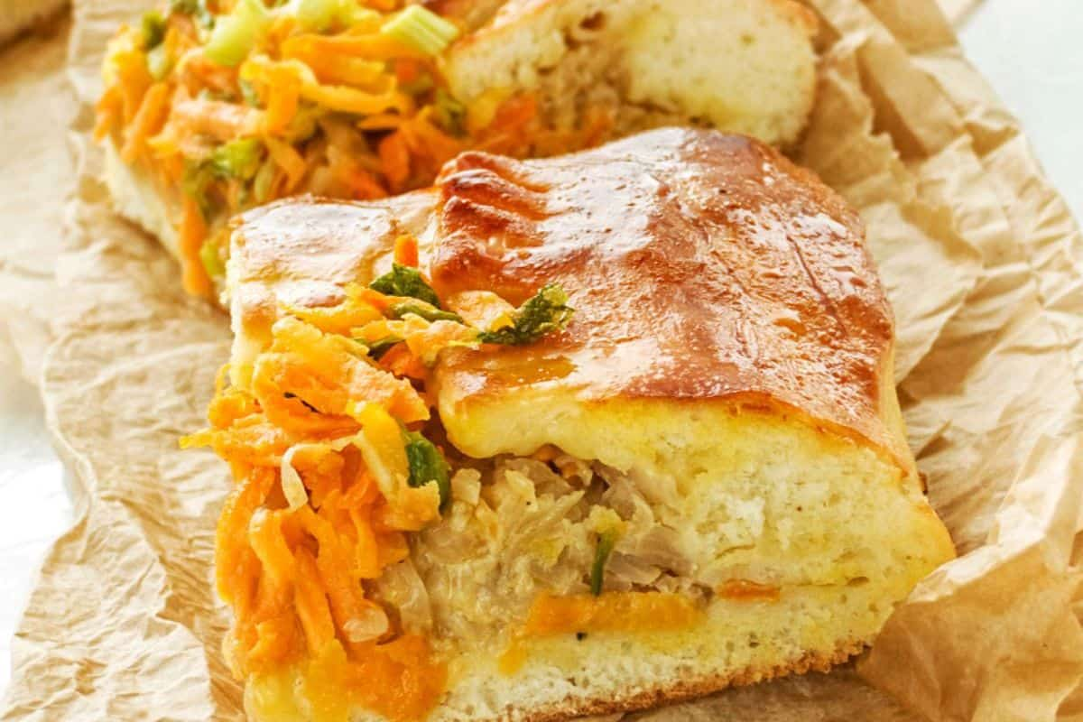 16. Russian Food - Russian Cabbage Pie (1)