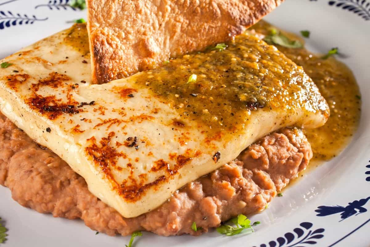 Salvadoran Pupusas With Refried Beans and Cheese
