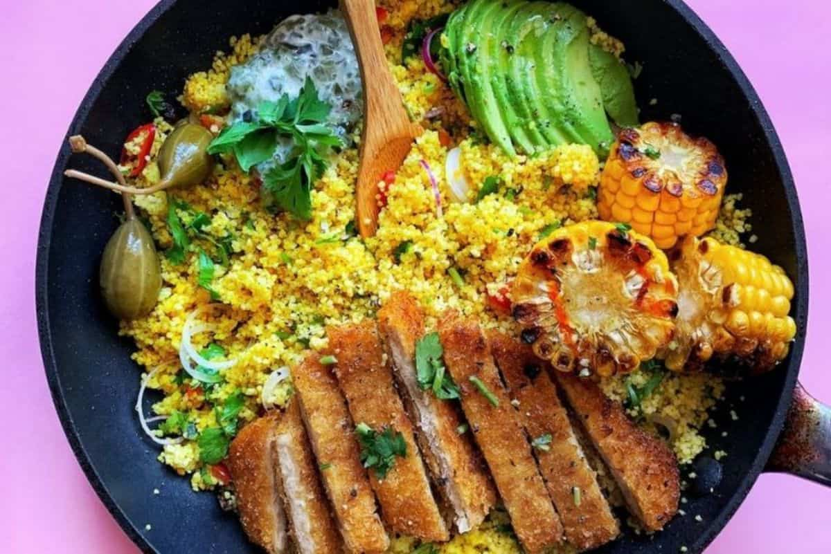 16. Traditional Moroccan Recipes - Moroccan Chicken Couscous Bowl