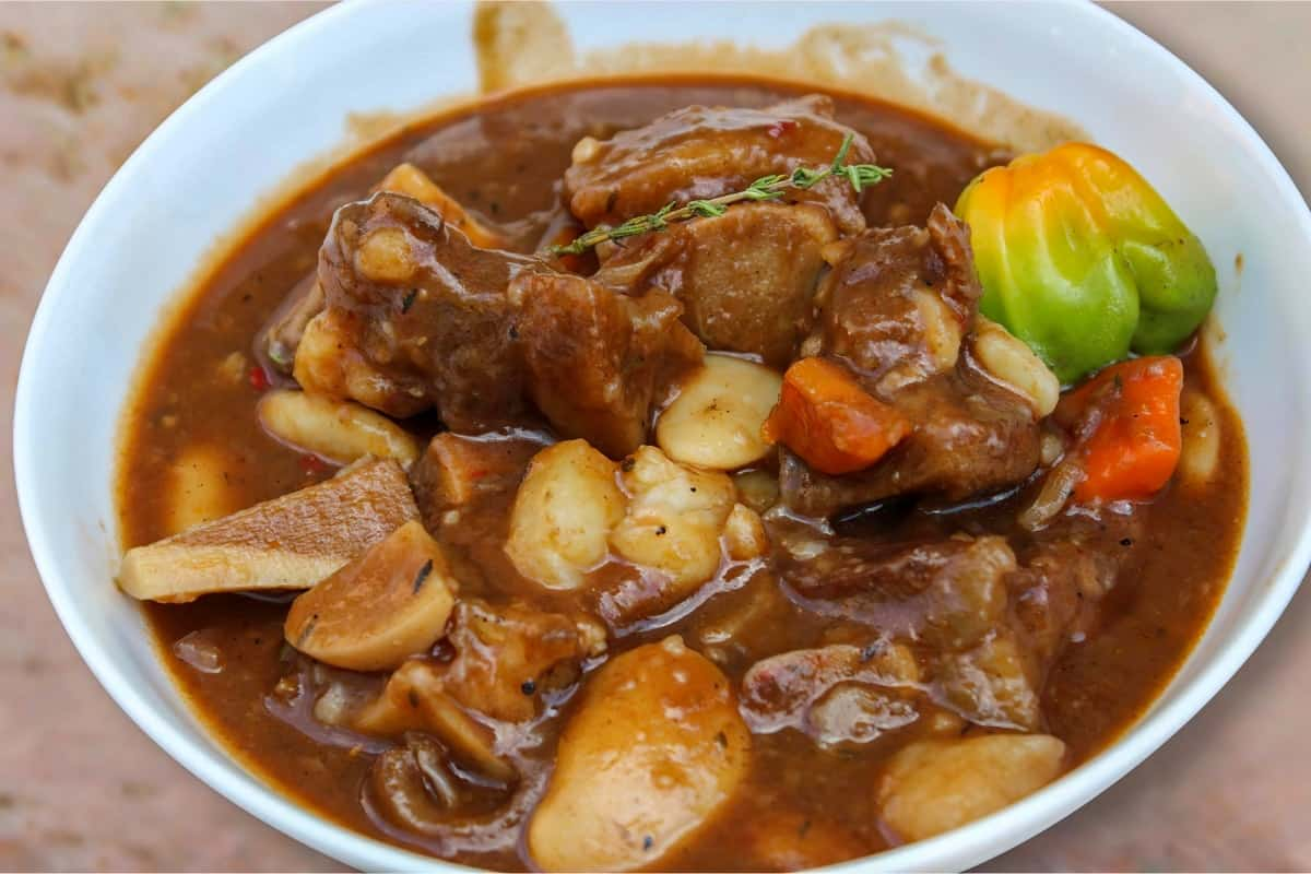Cow Foot Soup - Food From Belize