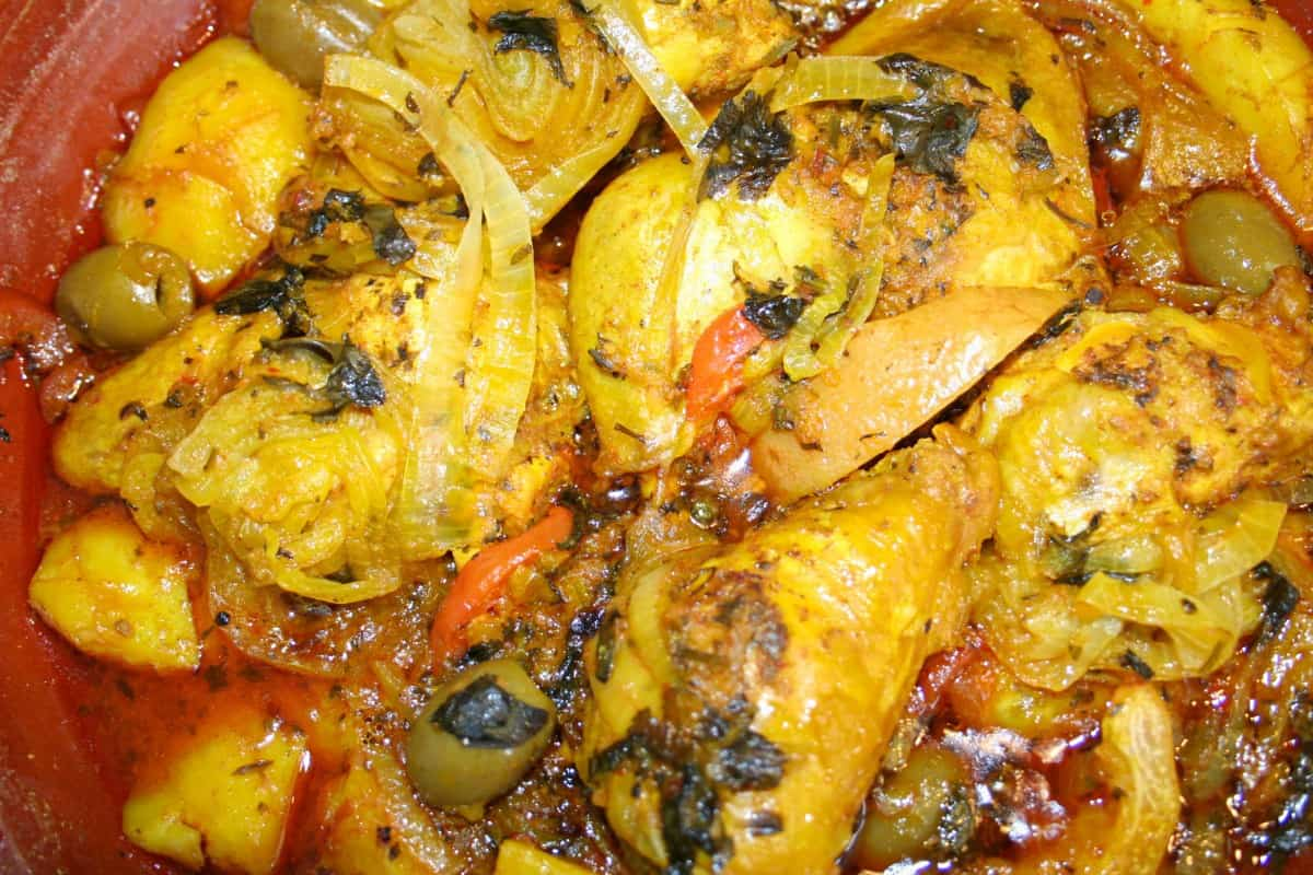 Gallo en Chicha - El Salvador Recipes