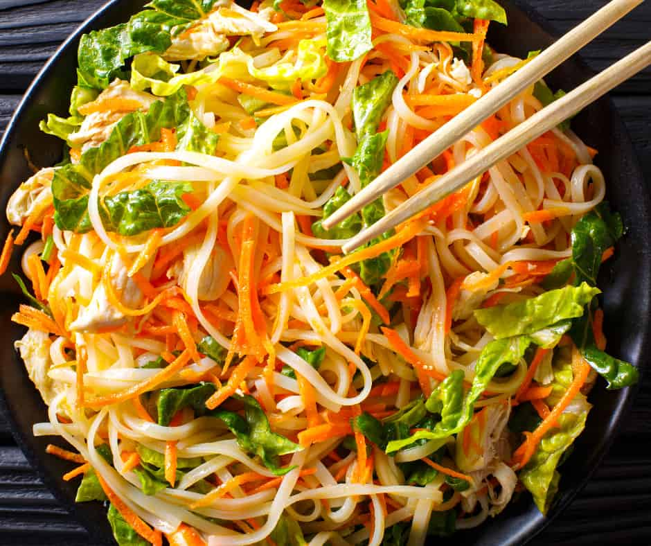 21. Vietnamese-Inspired Chicken Salad with Rice Noodles (1)