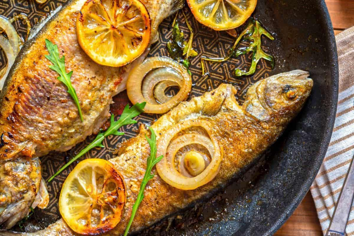 27. Pan-Fried Trout With Garlic and Lemon