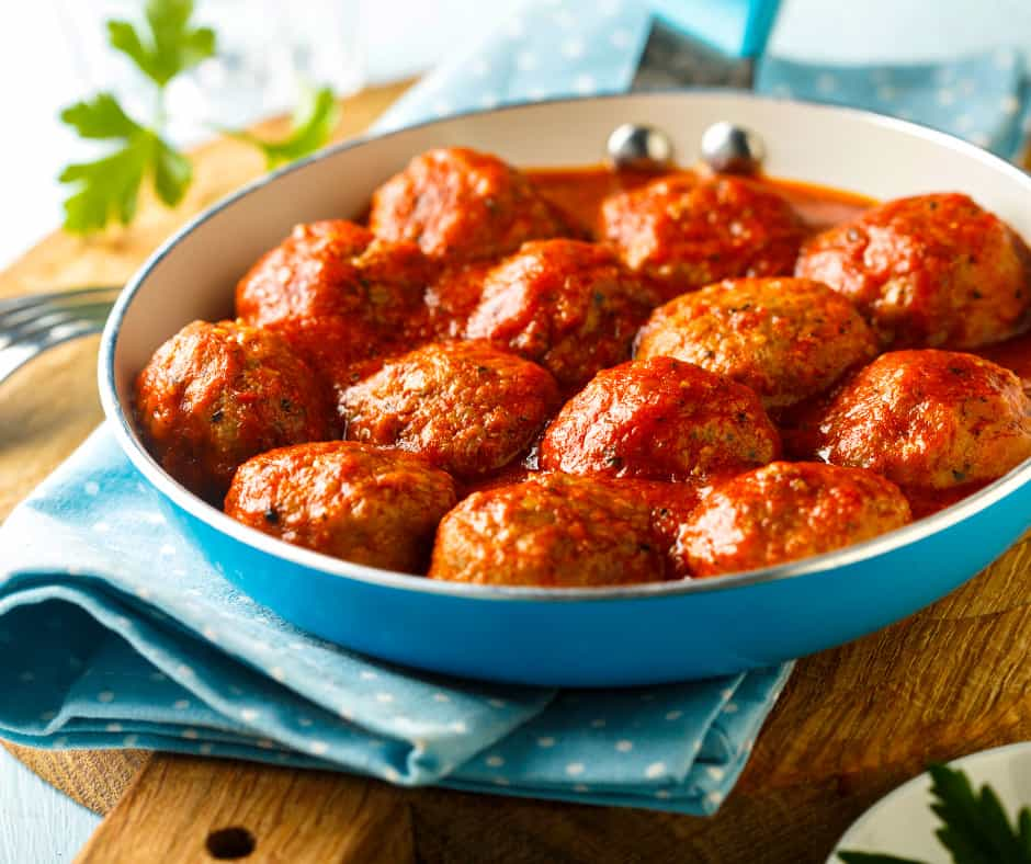 5. Vietnamese-Style Meatballs with Chili Sauce