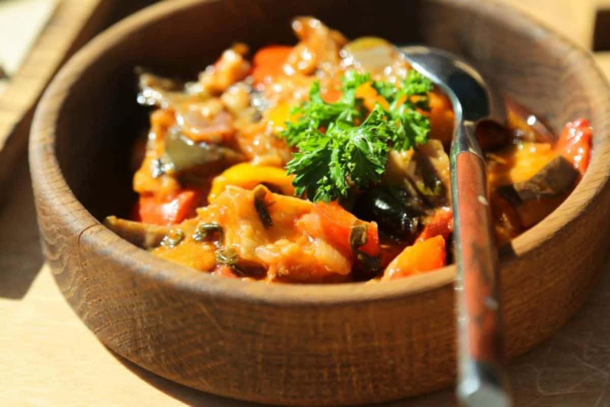 8. Moroccan Vegetable Stew