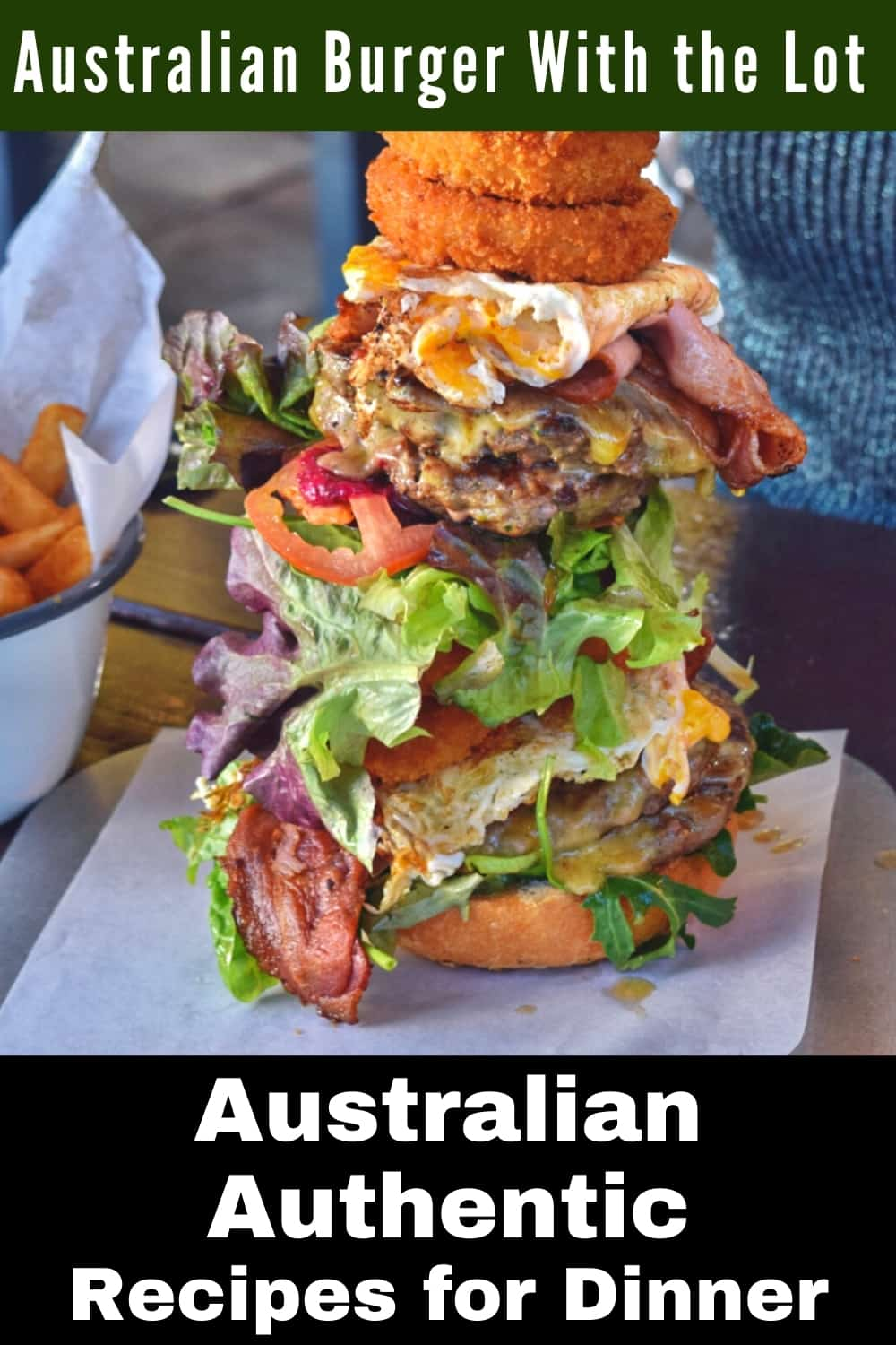 Australian Burger With the Lot