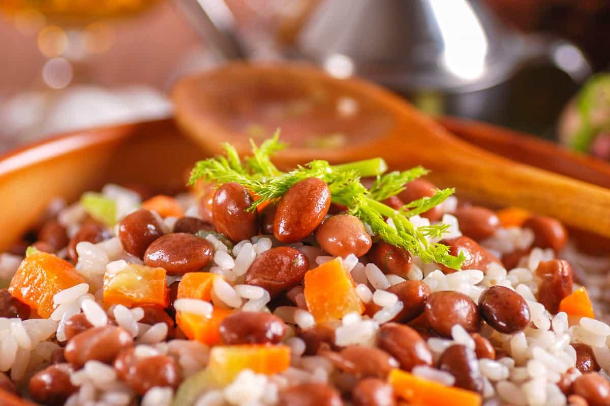 Caribbean Rice and Beans - Virgin Islands Food