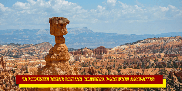 18 Top Bryce Canyon National Park Free Campsites