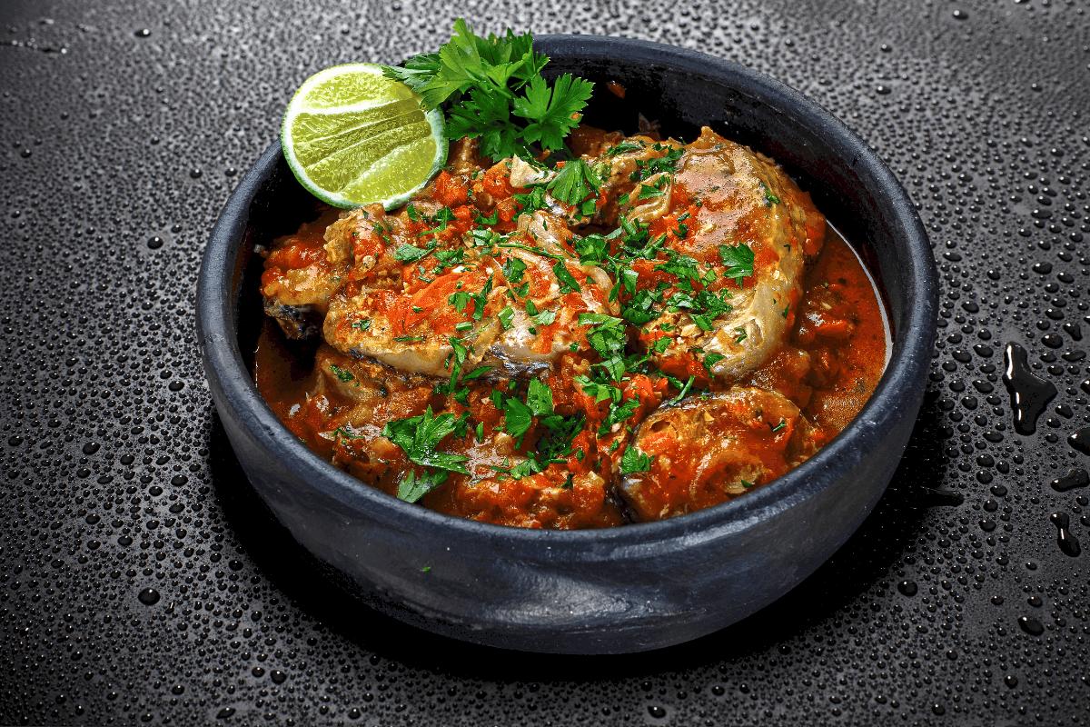 Caribbean Pot Fish - Virgin Island Food