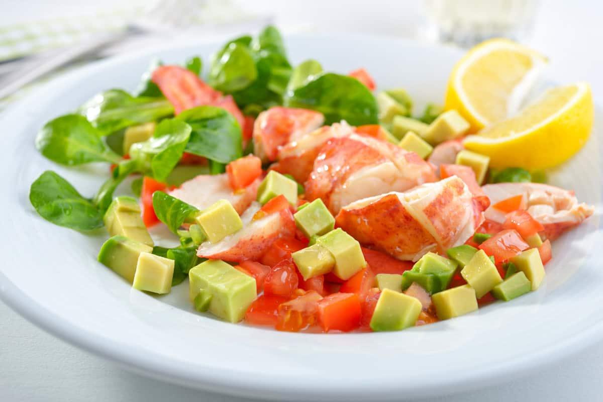Lobster Salad from the BVI - Virgin Islands Recipes