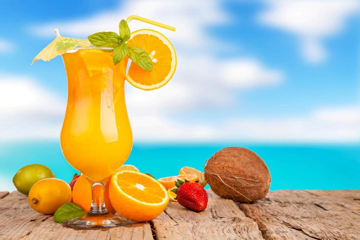 Orange Colada - Virgin Islands Recipes
