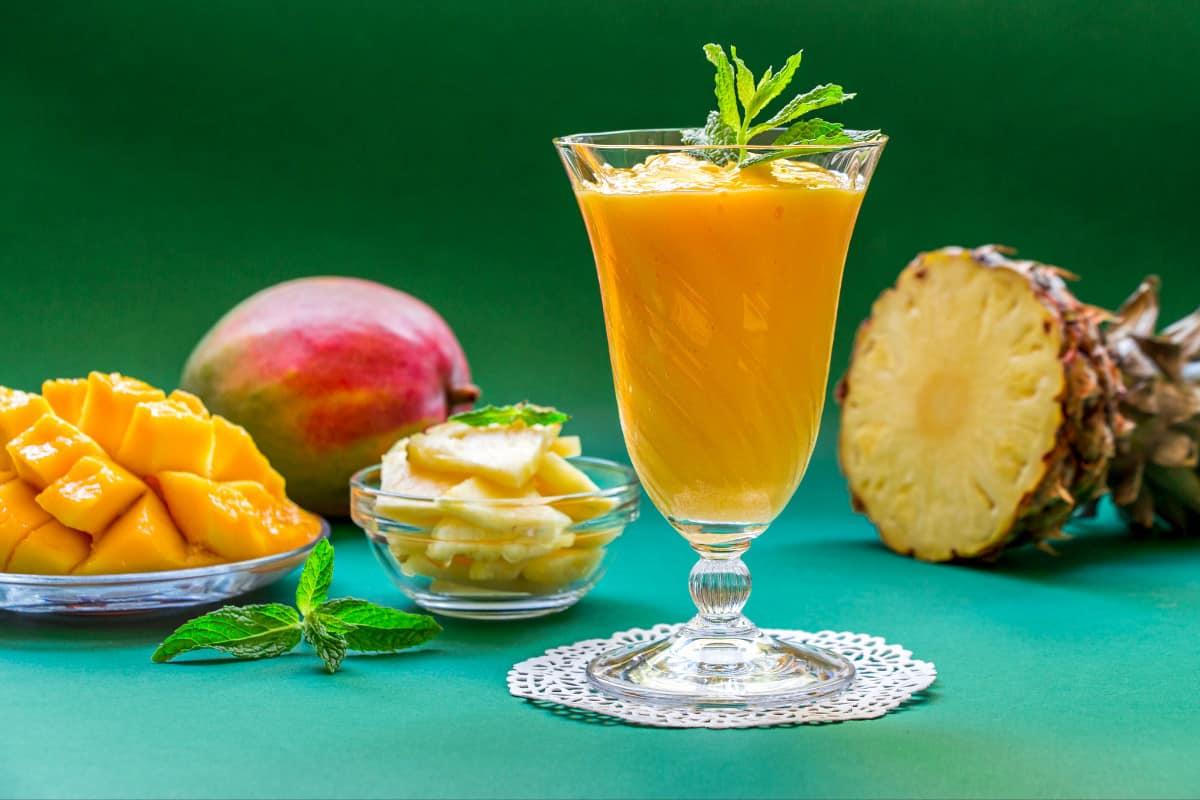 Orange Colada Family-style - Virgin Islands Food