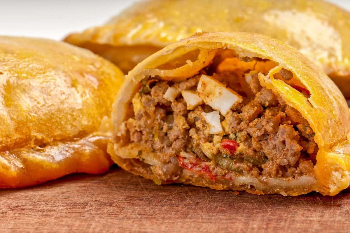 Beef Pates - Virgin Islands Food