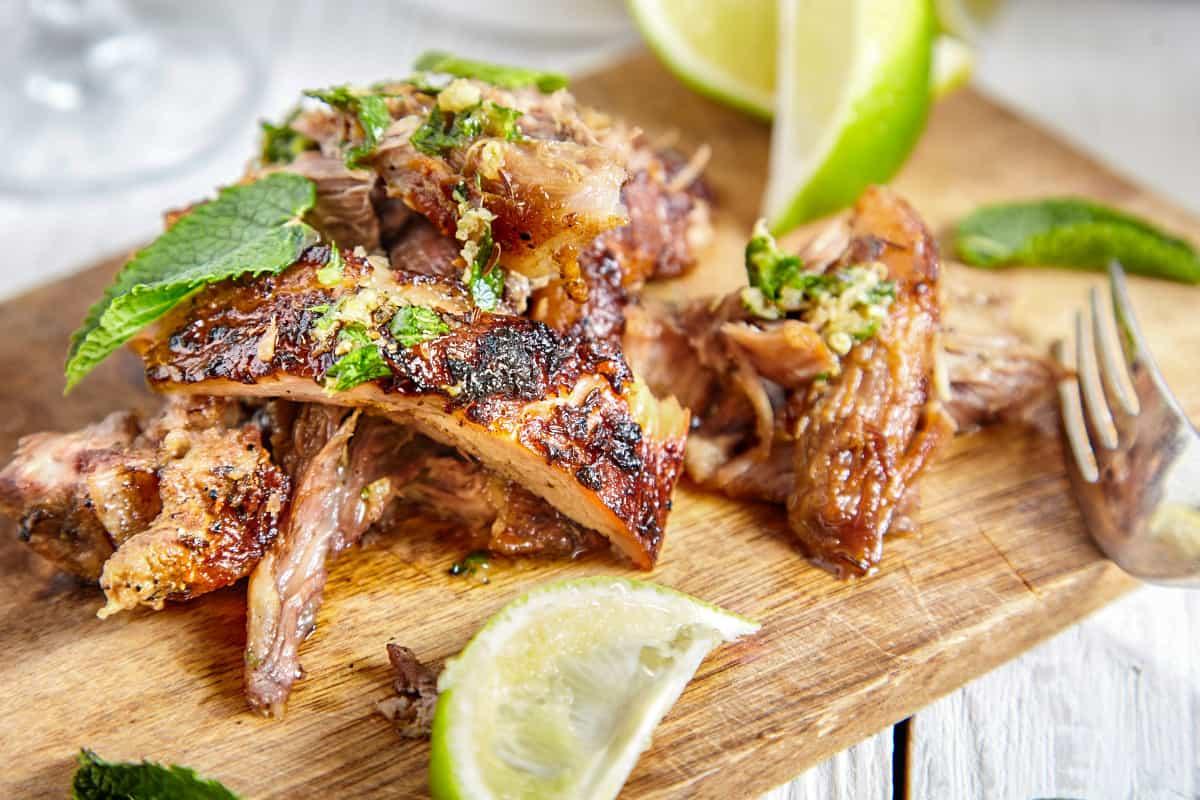 Virgin Island Slow-Roasted Pork Shoulder - Virgin Islands Recipes