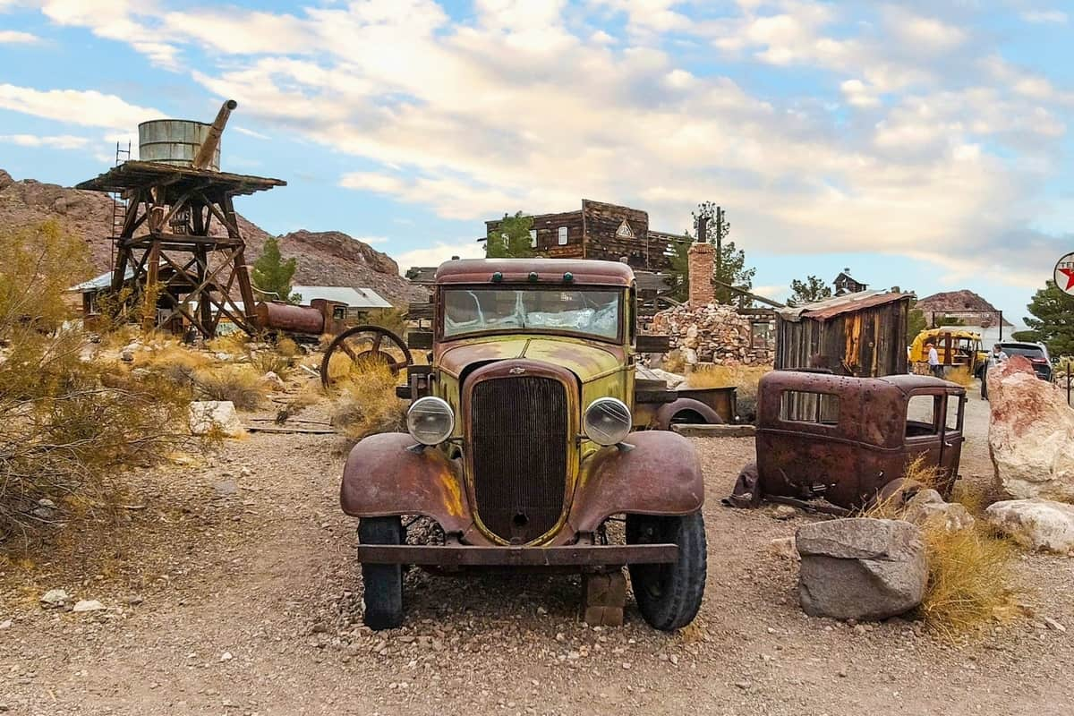 Nelson Nevada Ghost Town