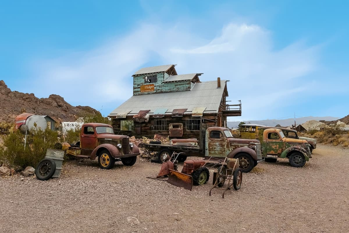 Techatticup Nevada Gold Mine and Ghost Town 4