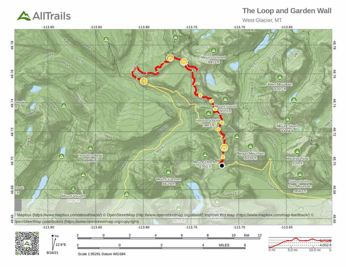 18 The Loop and Garden Wall-1 Hiking Areas